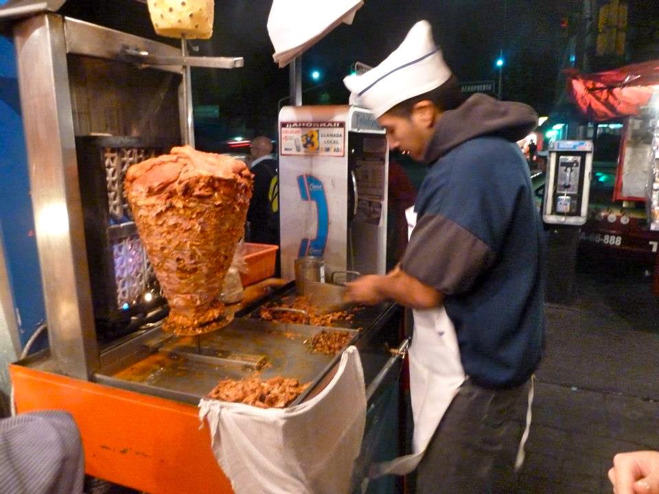 Tacos al pastor 263755_4858215695412_2091174364_n