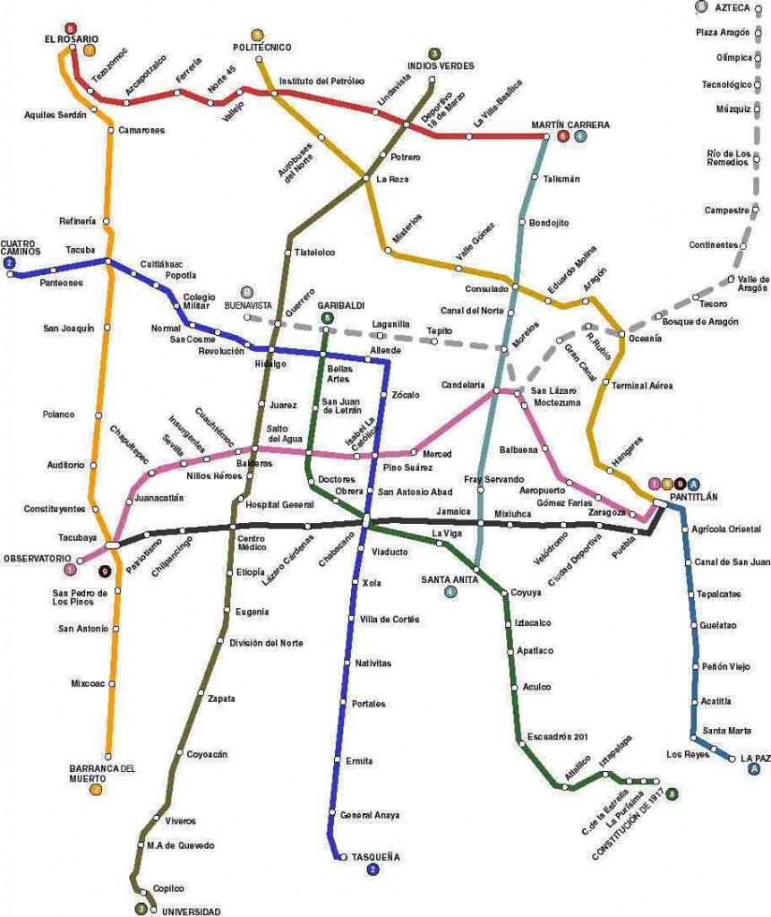 El metro metro_mexico